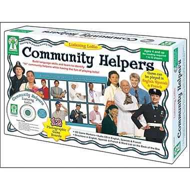 Key Education Publishing Listening Lotto: Community Helpers Board Game, Grades Preschool - 1