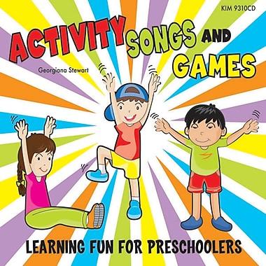 Kimbo Educational® Activity Songs and Games CD