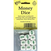 Koplow Games Money Dice, Grades Toddler - 2