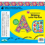 Barker Creek® Lasting Lessons® 4 Letter Pop-Out, Groovy