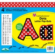 "Barker Creek® Lasting Lessons® 4"" Letter Pop-Out, Dots"