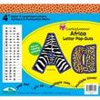 "Barker Creek® Lasting Lessons® 4"" Letter Pop-Out, Africa"
