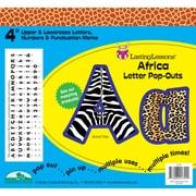 Barker Creek® Lasting Lessons® 4 Letter Pop-Out, Africa