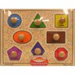 Melissa & Doug® First Shapes Jumbo Knob Puzzle