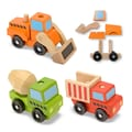 Melissa & Doug® Stacking Construction Toy Vehicles