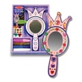Melissa & Doug® Decorate-Your-Own Wooden Princess Mirror