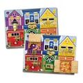 Melissa & Doug® Latches Board, Grades All