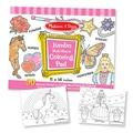 Melissa & Doug® Pink Jumbo Coloring Pad, Grades Toddler - 2