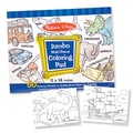 Melissa & Doug® Blue Jumbo Coloring Pad, Grades Toddler - 2