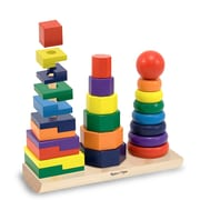 Melissa & Doug® Geometric Stacker Toddler Toy, Grades Preschool