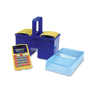 Learning Resources® Calc-U-Tote® With 10 Basic Calc-U-Vues®, Grades K+