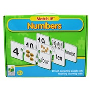 Learning Journey Match It Numbers Game, Grades Toddler - Preschool