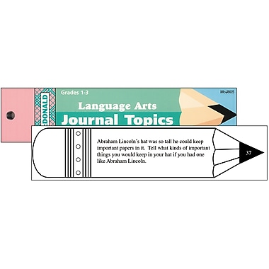 McDonald Publishing Journal Booklet Writing Skills Book, Grades 1 - 3