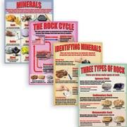 McDonald Publishing Geology: Rocks & Minerals Poster Set