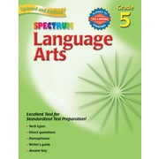 Carson Dellosa® Language Arts Grade 5 Workbook, Language Arts
