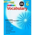 Carson Dellosa® in.Spectrum®: Vocabularyin. Grade 6 Workbook, Language Arts/Reading