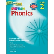 Carson Dellosa® Spectrum® Phonics Grade 2 Workbook, Reading