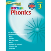 Carson Dellosa® Spectrum® Phonics Grade 3 Workbook, Reading