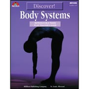"Milliken Publishing Company® ""Discover: Body Systems"" Reproducible Book, Grades 4 - 6"