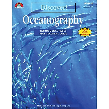 milliken publishing company discover oceanography reproducible book grades 4 6 staples. Black Bedroom Furniture Sets. Home Design Ideas
