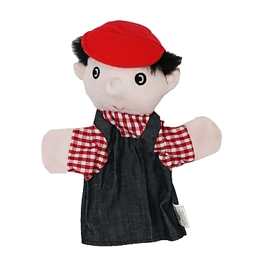 Get Ready Kids® Caucasian Machine Washable Farmer Puppet