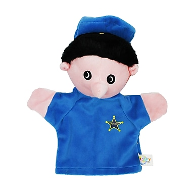 Get Ready Kids® Caucasian White Police Officer Puppet