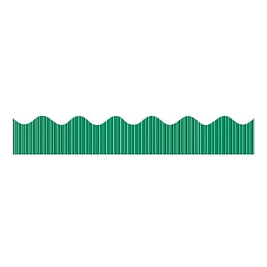 Pacon® Bordette® Preschool - 12th Grade Metallic Decorative Border, Green