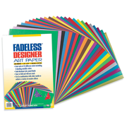 "Pacon® 12"" x 18"" Fadeless Designer Art Paper, Assorted, 100 Sheets"