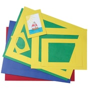 Pacon® Pre-Cut Mat Frames, Assorted