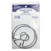 """Pacon® Chart Stand Rings, 3"""""""