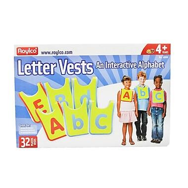 Roylco® Letter Vests, Grades Preschool - 3