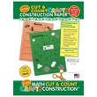 Roselle Crafty Construction Paper™ 18in. x 12in. Life Cycle of Frog/Chicken Construction Pad, 60 Sheets