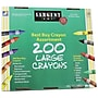 Sargent Art® 200 Large Crayons