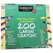 Sargent Art® 200 Large Crayons