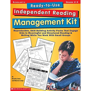 Scholastic® Ready-to-Use Independent Reading Management Kit Activity Book, Grades 2 - 3