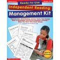 Scholastic® in.Ready-To-Use Independent Reading Management Kitin. Book, Language Arts/Reading