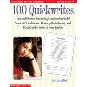 Scholastic® 100 Quickwrites Professional Book, Grades 5 - 12