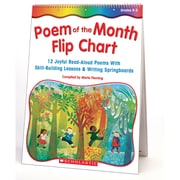 "Scholastic® ""Poem of the Month Flip Chart"", Poetry"