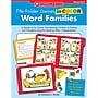 Scholastic® Word Families File Folder Games, Grades Kindergarten