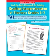 "Scholastic® ""Week-by-Week Homework For Building Reading Co..."" Grade 2-3 Book, Language Arts/Reading"