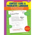 Scholastic® in.Reading... Context Clues & Figurative Languagein. Grade 4-6 Book, Language Arts/Reading