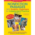 Scholastic® in.Nonfiction Passages With Graphic Organize...in. Grade 2-4 Book, Language Arts/Reading