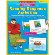 Scholastic® The Big Book of Reading Response Activities Book, Language Arts/Reading