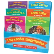 "Scholastic® ""Easy Reader Biographies"" Book, Language Arts/Reading"
