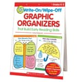 Scholastic® 10 Write-On/Wipe-Off Graphic Organizers Book, Grades K - 2