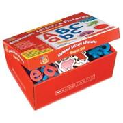 Scholastic® Little Red Tool Box: Alphabet Letters & Pictures Super Set, Letter Recognition