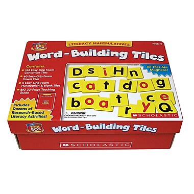 Scholastic® Little Red Tool Box: Word Building Tiles, Language Arts/Reading