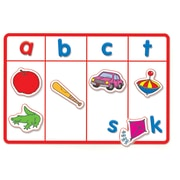Scholastic® Little Red Tool Box: JUMBO Fold-Out Magnetic Mats, Grades PreK - 3