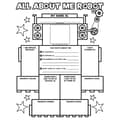 Scholastic® All About-Me Robot Graphic Organizer Posters, Grades K - 2