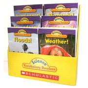 "Scholastic® ""Science Vocabulary Readers: Wild Weather"" Book Set, Grades 1 - 2"
